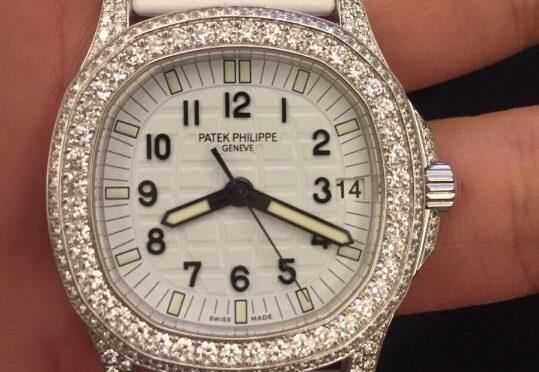 Gyémánt Luxus Patek Replica Philippe Aquanaut 5069G-011