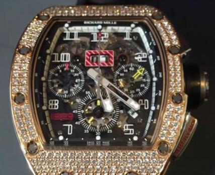 Korlátozott Replica Richard Mille RM011 Gyémánt Tok