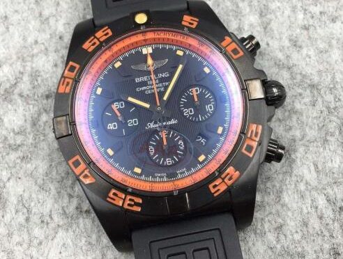 Replica Breitling Chronomat Raven Blacksteel MB0111C2