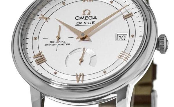 Omega De Ville Prestige Sorozat 424.13.40.21.02.002 Olcsó Replica Watch